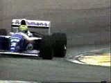 F1 1991 Ayrton Senna Round 2 Brazil Interlagos GP Crash
