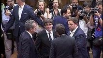 Estrasburgo avala que el Constitucional suspendiera el Pleno del Parlament en el que Puigdemont iba a valorar el 1-O