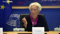 La Eurocámara aprueba el nombramiento de Christine Lagarde como presidenta del BCE con 394 votos a favor