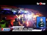 Dua Bus Tabrakan di Tol Cipali, 7 Orang Tewas