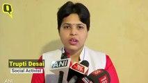 Social Activist Trupti Desai on Sabarimala Case Being Referred to Larger Bench