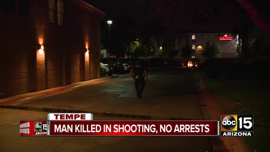 Man Killed In Tempe Shooting No Arrests Video Dailymotion