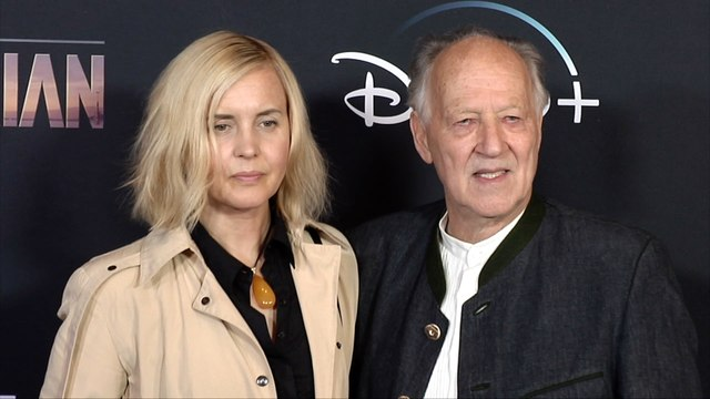 "Werner Herzog, Lena Herzog ""The Mandalorian"" Premiere Red Carpet"