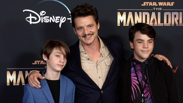 "Pedro Pascal ""The Mandalorian"" Premiere Red Carpet"