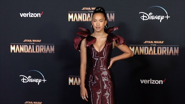 "Sofia Wylie ""The Mandalorian"" Premiere Red Carpet"