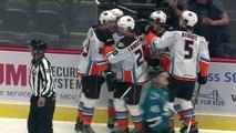 AHL Highlights: San Diego Gulls 9 vs. San Jose Barracuda 3