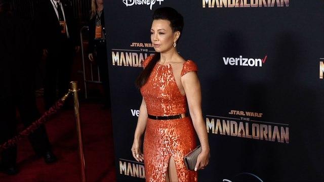 "Ming-Na Wen ""The Mandalorian"" Premiere Red Carpet"