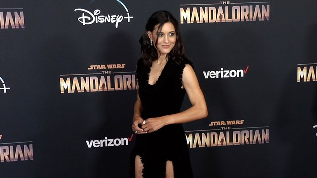 "Julia Jones ""The Mandalorian"" Premiere Red Carpet"