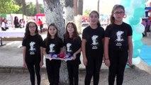 Ortaokul öğrencileri bilimsel hayallerini sergiledi
