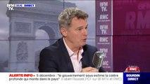 """Fabien Roussel (PCF): """"Ça doit être le travail et le capital qui doivent cotiser"""" pour les retraites"""