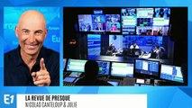 """Nicolas Sarkozy a reçu le prix Edgar Faure : """"un prix littéreux, ça fait toujours plaisir !"""" (Canteloup)"""