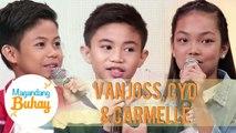 Vanjoss, Cyd and Carmelle give advice to aspiring singers | Magandang Buhay