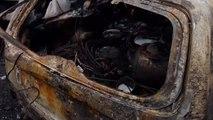 Une vingtaine de voitures brûlent dans un incendie à Herve