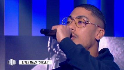 """Maes en live avec """"Street"""" - Clique - CANAL+"""