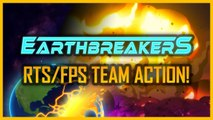 Earthbreakers - Gameplay Teaser Trailer (Official RTS FPS Team Action PC Game 2020)