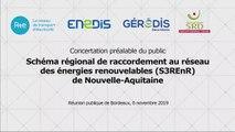 S3REnR Nouvelle-Aquitaine – 6 novembre 2019 - Questions-Réponses