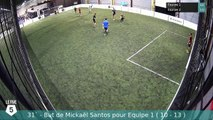 But de Mickaël Santos pour Equipe 1 le lundi 09 septembre à 21:07