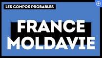 France - Moldavie : les compositions probables