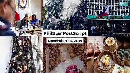 Postscript November 14, 2019