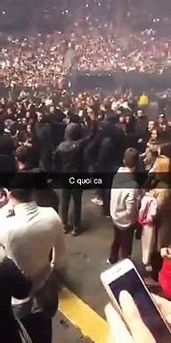 Les ultras du PSG débarquent au concert de JUL