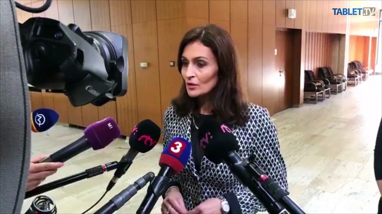 ZÁZNAM: Brífing ministerky zdravotníctva A. Kalavskej po mimoriadnom rokovaní vlády