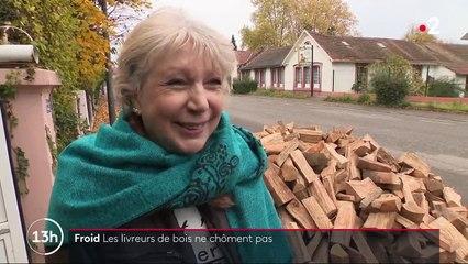 Froid : les livreurs de bois sont débordés