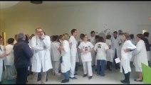 Journée de grève dans les hôpitaux : 120 personnes rassemblées à Troyes