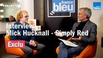 """France Bleu Collector - Mick Hucknall, du groupe Simply Red, se confie sur leur nouvel album """"Blue Eyed Soul"""""""