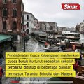 Fenomena 'acqua alta' tenggelamkan Venice