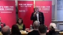 Corbyn heckled by former SNP activist over IndyRef2