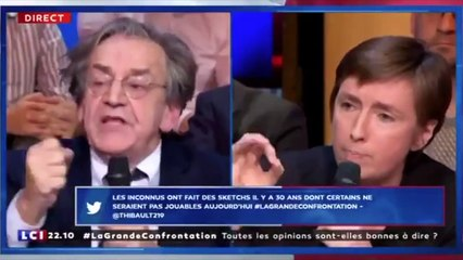 Le nouveau dérapage d'Alain Finkielkraut sur LCI !