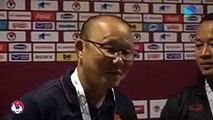 ĐT Việt Nam phấn khởi vào sân, hừng hực khí thế trước trận đấu với UAE | VFF Channel