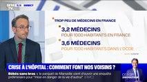 Crise à l'hôpital : comment font nos voisins européens?
