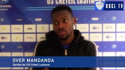 7e tour CDF Sarre Union-USCL : l'interview d'avant-match d'Over Mandanda