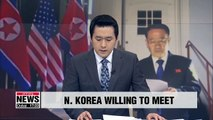 N. Korea's top nuclear envoy willing to hold talks with U.S. counterpart
