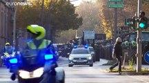 3.500 Traktoren: Landwirte demonstrieren im Konvoi in Hamburg