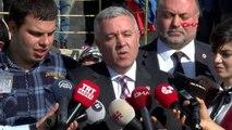 Ankara chp'li çetin arık otizmli çocukların aileleri ile açıklama yaptı
