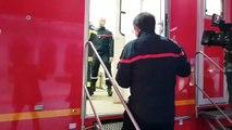 Incendie à Annecy : réaction du colonel Pascal Lorteau, directeur du Sdis 74
