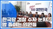 한국당 검찰 수사 눈치...맘 졸이는 의원들 / YTN