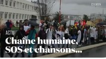 Les soignants descendent dans la rue pour sauver l'hôpital