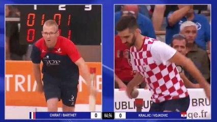 Finale France contre Croatie, Meeting International de tir en relais double mixte, Bruguières 2019