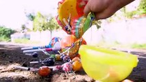 Crushing Crunchy and Soft Things by Car- - EXPERIMENT: CAR VS BIG CHUPA CHUPS