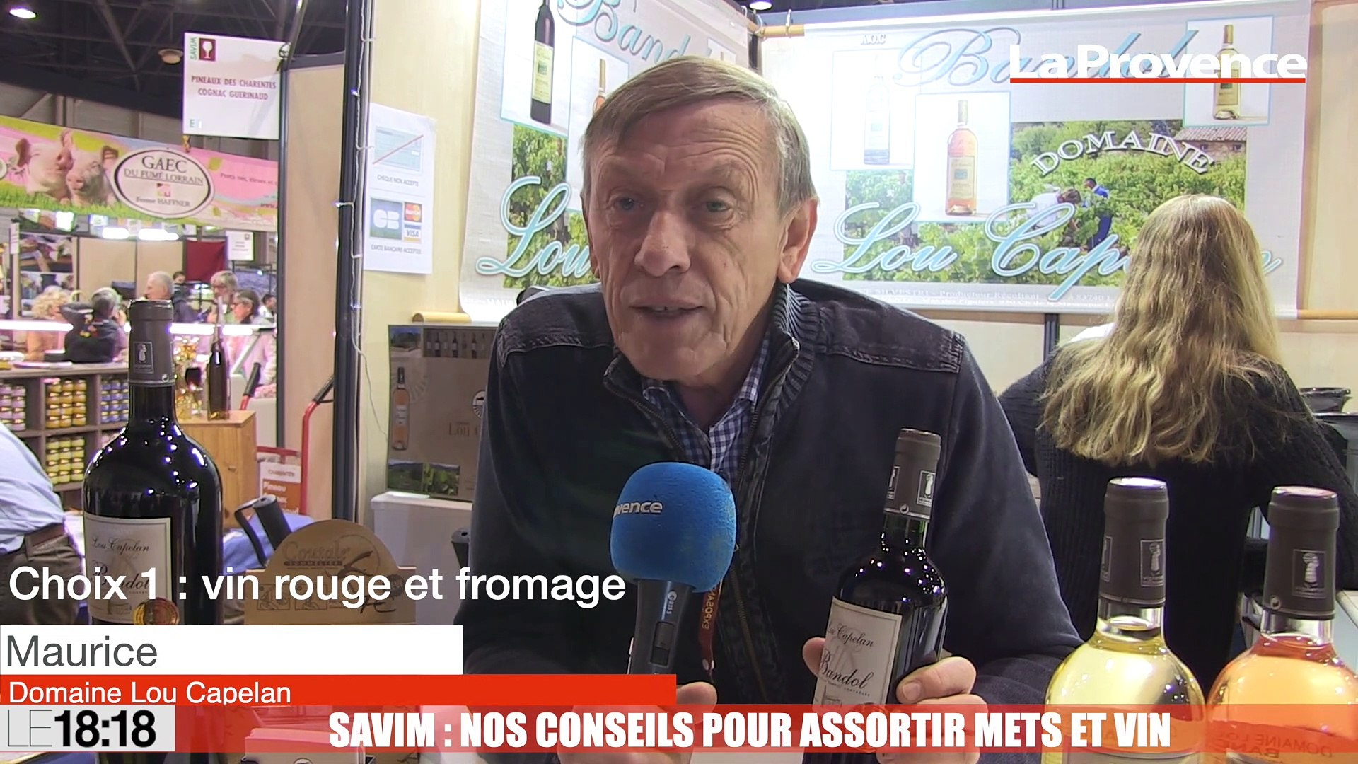 lacer dans original vente en ligne Le 18:18 - Marseille : vins et plats provençaux en vedette au parc Chanot à  l'occasion du Savim