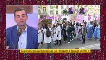 "L'hôpital a ""un besoin immédiat d'un milliard d'euros "", selon le collectif Inter-Hôpitaux"