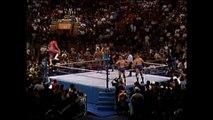 Randy Savage, Roddy Piper & Jim Duggan vs Ric Flair, Jake Roberts & Undertaker (12.02.91)