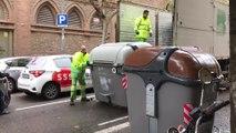 Barcelona empieza a reponer contenedores para normalizar la recogida de basura