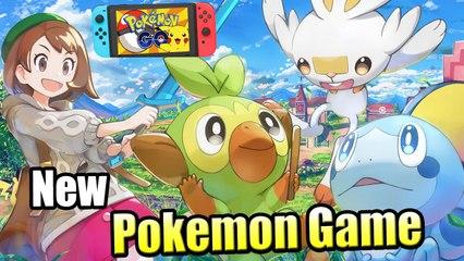 Pokemon Sword Shield #1 — New Pokemon Gen Begins {Switch} Walkthrough part 1
