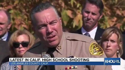 At Least Two Dead In Santa Clarita School Shooting