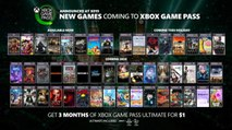 Xbox Game Pass - Announcing New Games (X019) Official Xbox/PC Games 2019/2020
