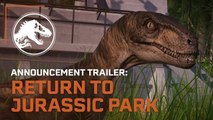Jurassic World Evolution: Return to Jurassic Park - Official Announcement Trailer (2019)